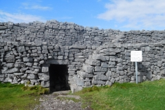 Enterance to a the remains of a fort.